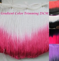 2014 new Rayon trimming Tassel Gradient fringe loop bottom lace color rose and white 20cm