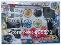 Rare Beyblade Ultimate 4D Top Rapidity Metal Fusion Fight Master Masters Set cem, original box