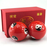 Chinese wind iron ball fitness ball elderly tai chi ball massage ball handball rehabilitation care