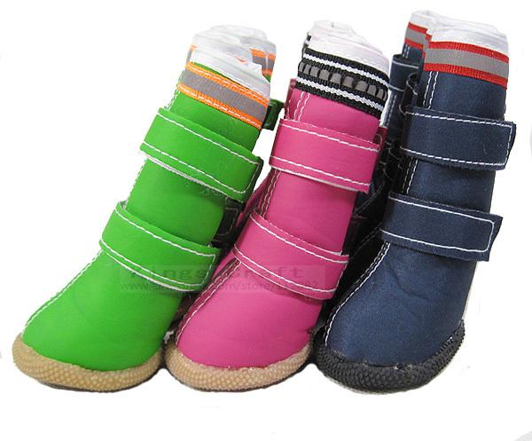 Big Pet Dog shoes, waterproof non-slip Rain Boots, Warm Winter Tall Dog Boots Free Shipping(China (Mainland))