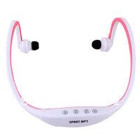 New 2013 Sport Wireless Earphones Headphones Music MP3 Player TF Card FM radio Headset #40806