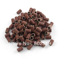 "100 PCS Sanding Band 80"" Machine Replacement Bits Nail Art Grit Pedicure Drill"
