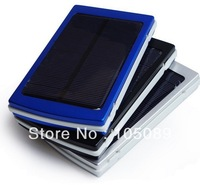 New Solar Power Panel Dual USB External Mobile Battery Charger 10000mAh Power Bank