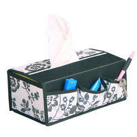 Orange color creative bombs tissue box