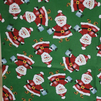 2013 Cotton Fabric Patchwork Patterns 50x110cm 2pcs DIY handmade pattern fabric Christmas snowman fabric Needlework