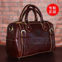 First layer of cowhide genuine leather women's handbag pillow big bag handbag messenger bag 2013 052300