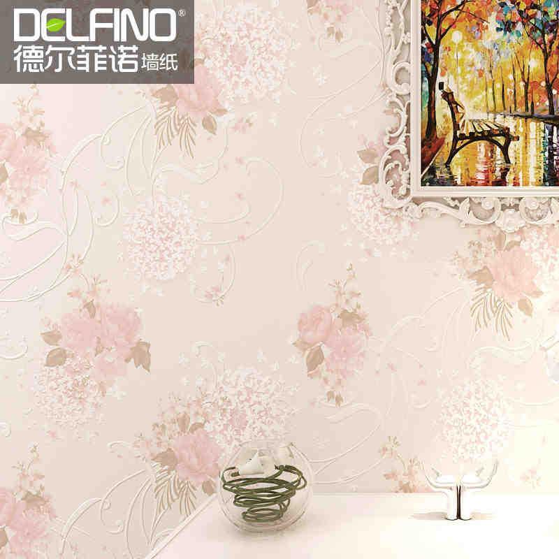 Slaapkamer Behang Romantisch : Behang slaapkamer romantisch : landelijke non woven behang behang