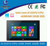 "Langma 11.6"" Windows 7/ 8 Tablet PC WiFi XP Notebook Computer Intel core i5 3337U CPU 4GB RAM 32GB SSD"
