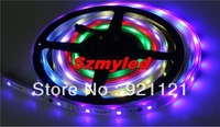 Magic Dream Color LED Flexible RGB Strip 30pcs SMD 5050 & 10pcs 6803 IC /M Chasing Waterproof IP67 Tube 100m,FEDEX Free Shipping