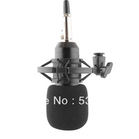 Condenser Microphone Mic BM700 Sound Singing Studio Recording Shock Mount Free Shipping