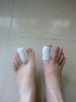 Gel Toe tube Corns Blisters protector gel Bunion toe finger protection
