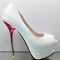 2013 14cm high-heeled shoes sexy platform thin heels sandals autumn fashion open toe women's shoes
