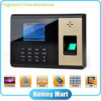 Easy Use TFT 2.8 Screen USB Biometric Fingerprint Time Clock