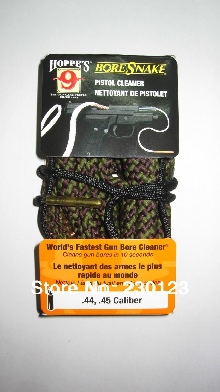 Livraison gratuite de nettoyage hoppe's 9 boresnake. 44,. Calibre 45 pistolet pistolet nettoyeur ~24004 tactique, tir de chasse propre