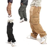 ne w 2014 fashion  cargo pants military harem pants men outdoor sport pants 3 color sweat pants