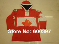 Hockey jersey Canada 2014 Olympic 87 Crosby red hoodie sweatshirt,Mix order,stitched logos