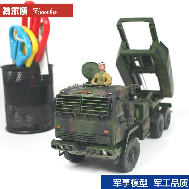 1:32 american World war ii M142 rocket launcher car model, 6 x6 truck model, static alloy models toy,free shipping,drop shipping(China (Mainland))
