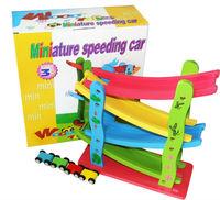 Miniature Speeding car Wooden toys Children Educational toy Baby gift