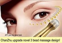 500pcs by DHL 24k active golden essence remove dark circle & crow's feet eye cream 10ml