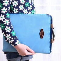2014 Portable A4 envelope data bag receive package expanding file documents pouch file bags 47*27*1.5cm free shipping