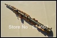manufacturer Wholesale  B the soprano saxophone Henry Reference 54 black grinding placer gold key
