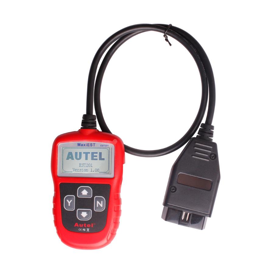 New 2014 Top quality Original AUTEL EST 201 Brake Service Tool MaxiEST EST201 Tools Electric obd2 Auto Diagnostic Tool(China (Mainland))
