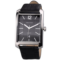 Watch quartz male watch strap calendar men's square table legenda 2013 time