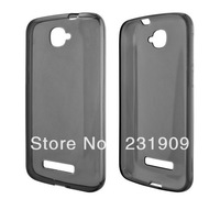 For Alcatel Pop C7 Glossy TPU Case,Flexible Slim TPU Back Skin Soft Anti-skid Cover For Alcatel One Touch Pop C7,Free Shipping