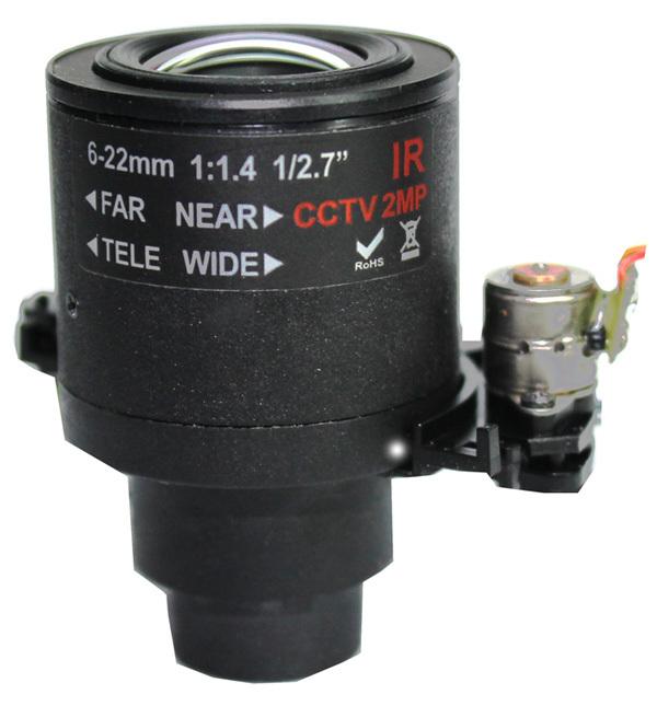 auto iris zoom lens, 2.7inch, IP Camera Lens, Using Software PTZ To Control Zoom, Pelco_D, Baud Rate: 2400, CCTV Camera Lens(China (Mainland))