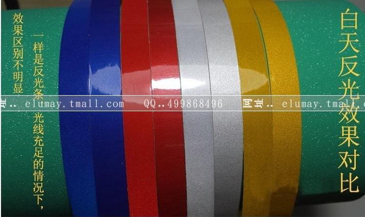 Exciting!!!20 pcs/lot Car 3M Reflective Sticker Luminous Tape Reflective Strip Decal Vinyl 2CM*46m(China (Mainland))