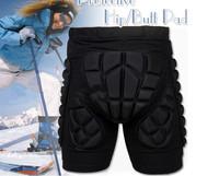 Black Kids Adult Short Protective Hip Butt Pad Ski Skate Snowboard Size L