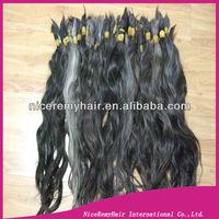 long virgin  gray hair bulk many in stock   30inch -36inch