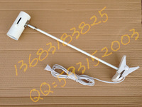 Lamp clip long arm lighting lamp display lights painting spotlights belt cord