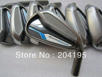 Speedblade golf irons 4-9,P,A,S  9pcs/set with steel shaft free headcover and freeshipping