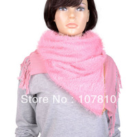 two layed soft warm lady scarf woman  2014,for couples in love family gift