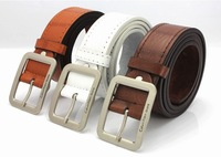 Free shipping fashion men`s belts/PU leather belt for man wholesale 1pcs B28