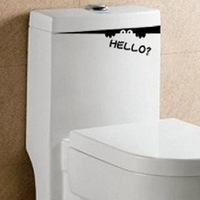 Mix Wholesale Order THE SEAT TOILET Decor Mural Art Wall Sticker Decal