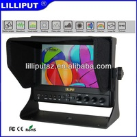 "Lilliput 663/P2 7"" IPS HDMI Monitor With Vectorscope, Waveform, Audio level meter"