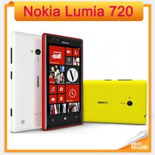 "Unlocked Original 720 Nokia Lumia 720 Windows Phone 8 Dual-core 1.0 GHz Camera 6.7MP ROM 8GB 4.3"" IPS Capacitive 3G Mobile Phone(China (Mainland))"