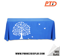 6ft Trade show table throw
