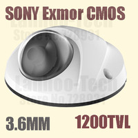 Outdoor IR Camera with Sony exmor cmos, 1200TVL Horizontal Resolution, metal cover