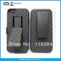 mobile phone bags & cases shell holster combo  for iphone 5s case
