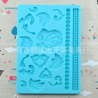 Free Shipping 2014 Silicone Cake Mold Decorating Gum Paste Fondant Cake Molds  Baking tools for cakes bakeware