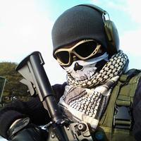 Skull cs cf magic bandanas outdoor sports washouts ride muffler scarf face mask scarf