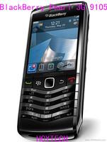 Blackberry pearl 3G 9105 TFT display WIFI 256 internal memory 3.15 MP GPS MP3 GSM WCDMA  Refurbished Original Blackberry phone