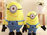 Free shipping Despicable ME Movie Plush Toy 10 inch Minion Jorge Stewart Dave NWT with tags kids gifts baby dolls