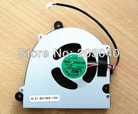 Laptop Cooling Fan For Clevo  i7 CPU W110 W110ER W150 W150HR W150HRM W170 W170HR ADDA AB7505HX-GE3 CWB4100 6-31-B41MS-104 0.4A