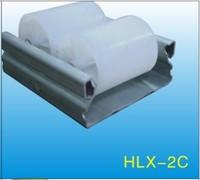 White ABS/PE Flow Rail/Placon/Roller Track    HLX-Flow Rail-2C