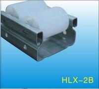 Black ABS/PE Flow Rail/Placon/Roller Track    HLX-Flow Rail-2B
