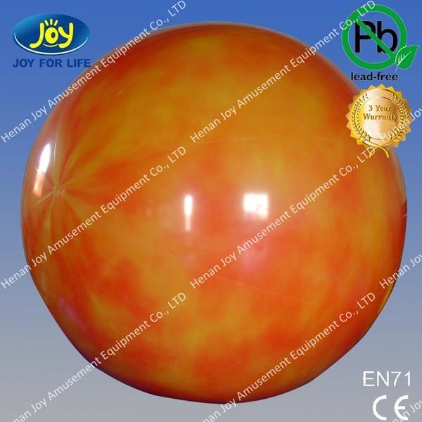 2.3m Diameter 0.18mm PVC Inflatable Advertising Balloon,inflatable helium balloon(China (Mainland))